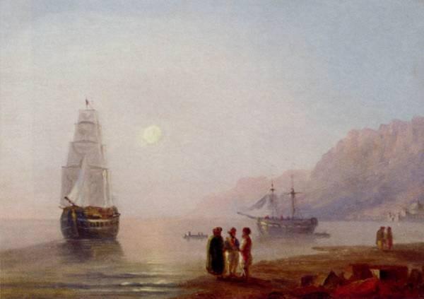 Konstantinovich A Conversation On The Shore Dusk